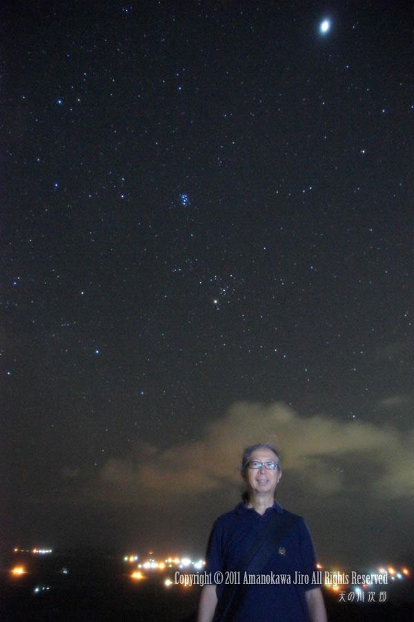 人物星野写真・天の川次郎
